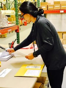 TONI COMPLETES CRITICAL STEP OF FILLING/MAILING INDIVIDUAL ORDERS