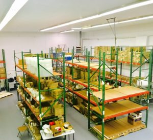 WORKDAY BEGINS AND ENDS WITH METICULOUSLY ORGANIZED WAREHOUSE